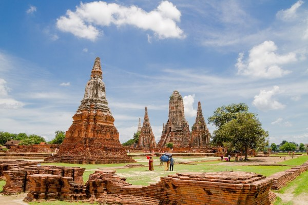 Wat Chai Wattanaram in Ayutthaya Thailand