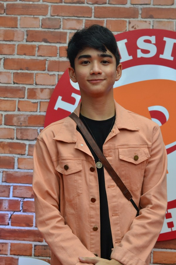 Zaijan Jaranilla at the launch of Popeyes ATC branch