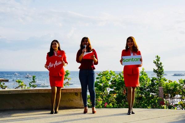 AirAsia reveals latest Santan menu in Amorita Resort Bohol