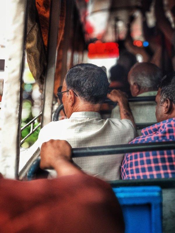 Bus Ride in Kochi by Najl Musthafa via Unsplash