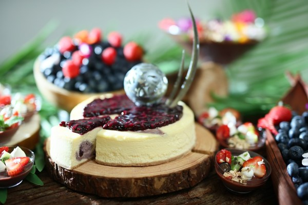 Cafe Marco_Blueberry and Acai Berry Cheesecake