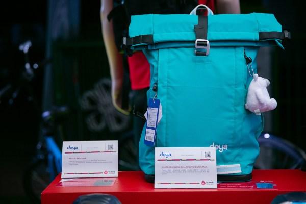 Deya Ocean Recycling Roll Function Backpack