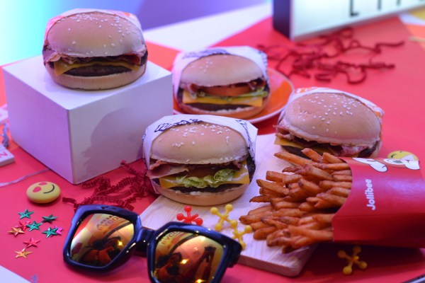 First look at Jollibee's Bacon Cheesy Deluxe Yumburger, Bacon Cheesy Yumburger and Crispy Spice Fries