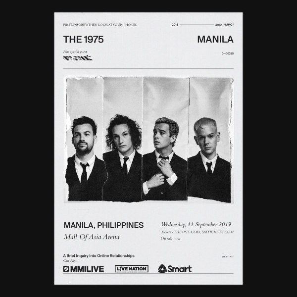 Get a chance to win The 1975 Live in Manila tickets from Smart