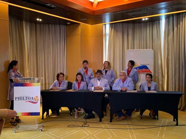 PHILTOA Board at the PTM Press Con