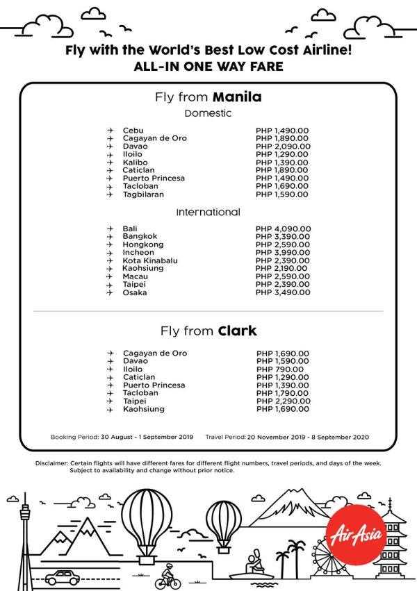 Philippine Travel Mart 2019 AirAsia Seat Sale