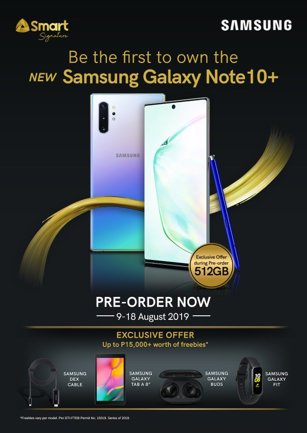 Smart kicks off pre-orders for Samsung Galaxy Note 10 Series