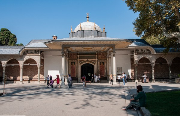 The Gate of the White Eunuchs – interesting name for the entrance to the 2nd Topkapi courtyard.