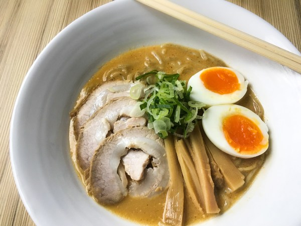 This Miso soup-based ramen bowl can chase away the blues and chill on cold and rainy days.