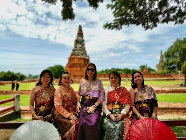 Travel Agents from the Philippines in Ayutthaya, Thailand