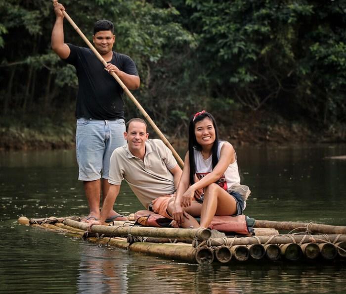 Bamboo Rafting at Anurak