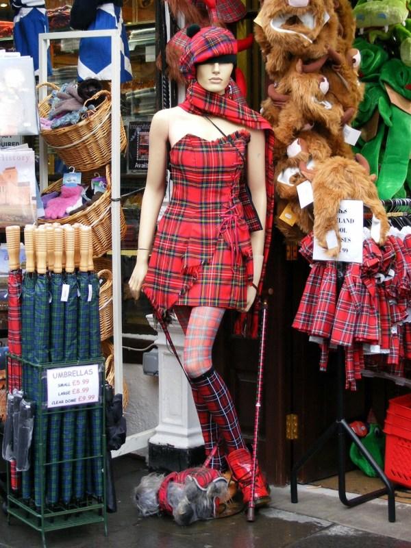 Edinburgh Souvenir Shops