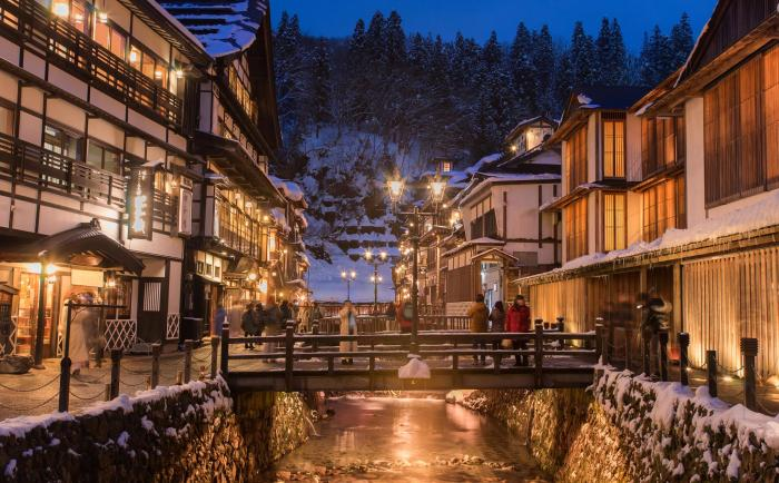 Ginzan Onsen photo via FB Page