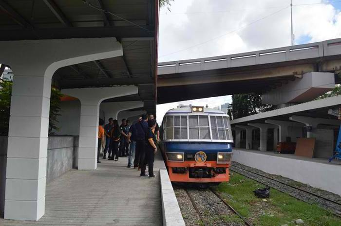 Inspection Trip Manila to Calamba photo via PNR