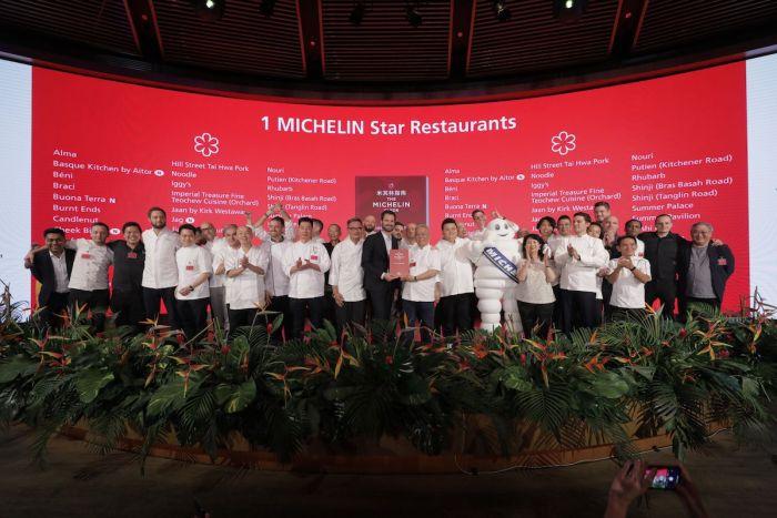 MICHELIN Guide Singapore 2019