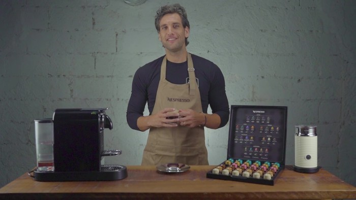 Nico Bolzico plays Barista for a day