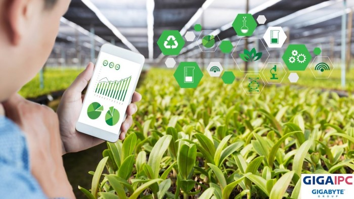Taiwan Excellence helps usher in the growth of smart agriculture with its array of award-winning technological innovations. Photo courtesy- GIGAIPC
