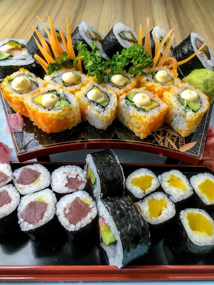 The maki selections feature Pinoy faves like the California Maki, as well as traditional choices like the Futo Maki and Negitoro Maki