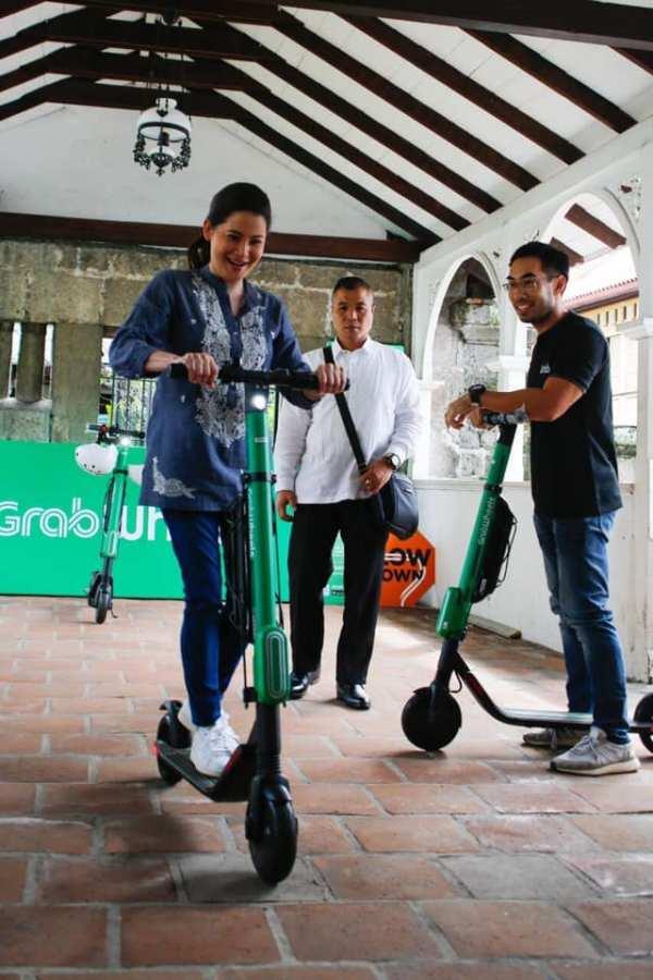 Tourism Secretary Bernadette Romulo-Puyat on Grabwheels