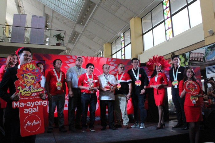 AirAsia celebrates inaugural flight to Bacolod