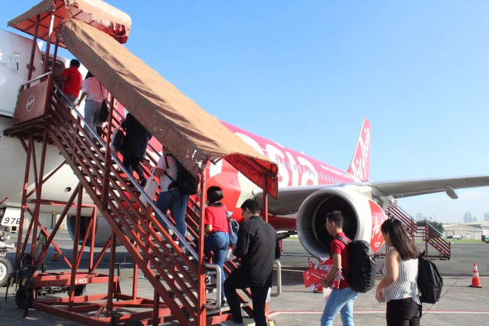 AirAsia flight to Bacolod