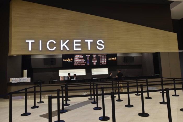 Cinema Ticket Booth at Ayala Malls Manila Bay