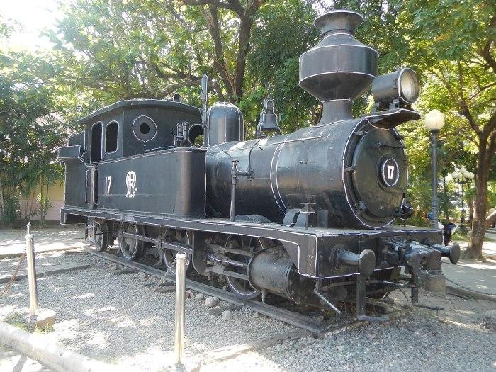 Dagupan Museum Locomotive, Train photo by Ramon FVelasquez via Wikipedia CC
