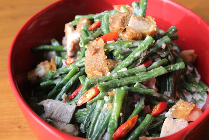 String Beans with Coconut Milk