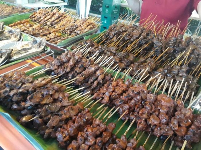 At the Ilonggo Street Food Festival photo via Robinsons Place Pavia FB Page