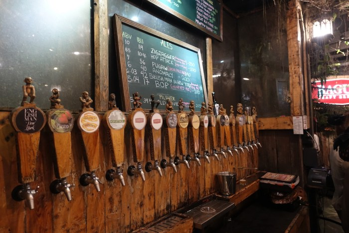 Baguio Craft Brewery Choices of Craft Beers
