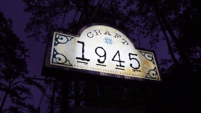 Craft 1945 Restaurant in Baguio
