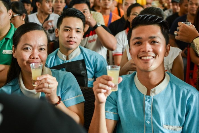 Happy participants of the Mixology Master Class