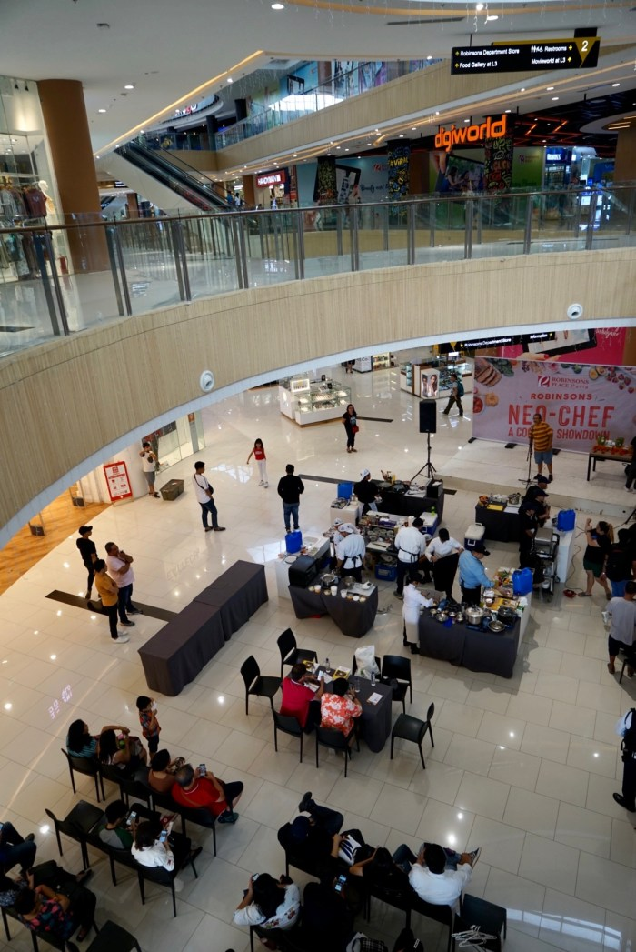 Nora Daza Cooking Competition in Robinsons Place Pavia