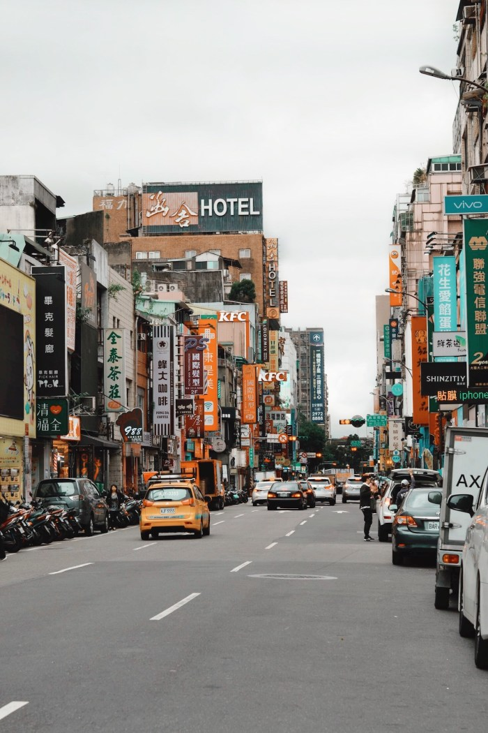 Streets of Ximending