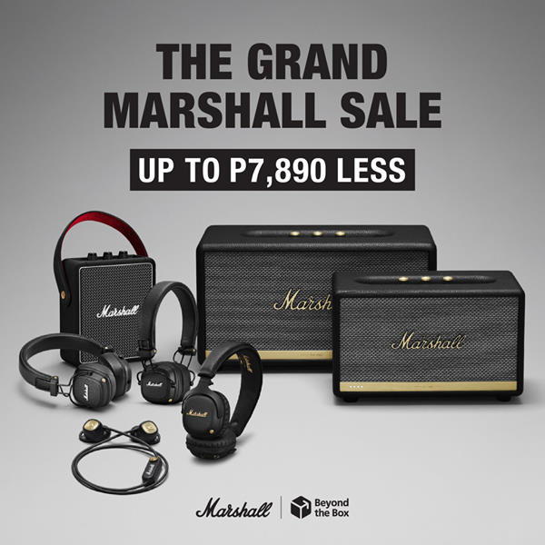 The Grand Marshall Sale
