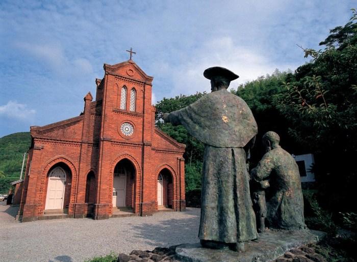 Dozaki church in Goto Islands
