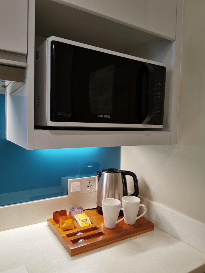 Coffee Making Facility and Microwave
