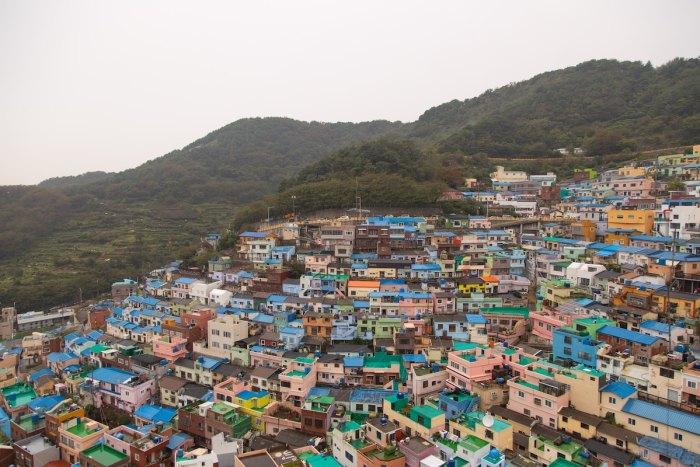 Gamcheon Culture Village in Busan South Korea by @sbk202 via Unsplash