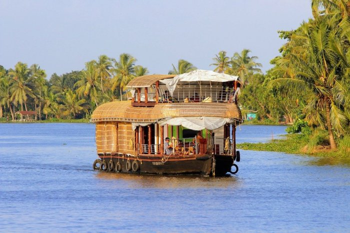 Houseboat in Kerala India
