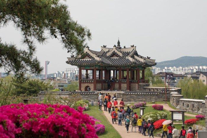 Hwaseong Fortress or Suwon Hwaseong