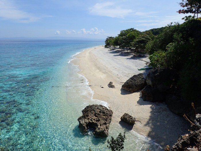 Sumilon Island in Oslob Cebu