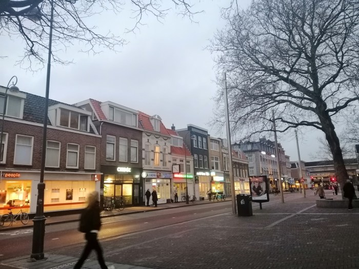 Taken from outside of Haarlem's train station