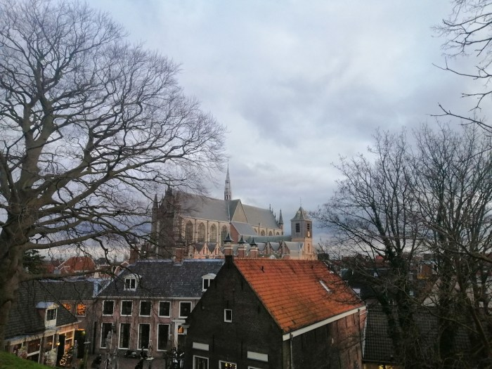 View from the top of Burcht van Leiden