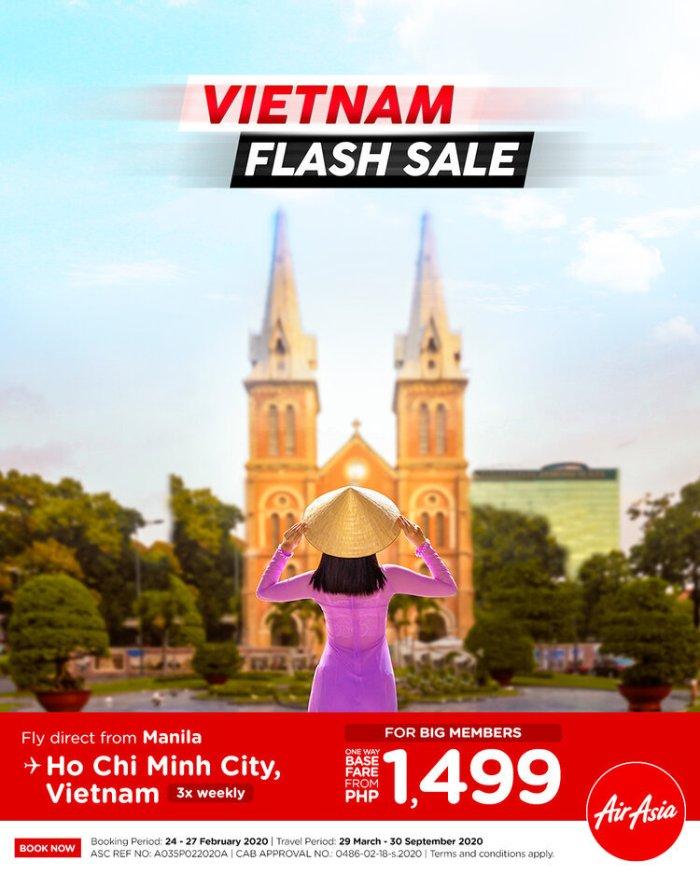 AirAsia Vietnam Flash Sale