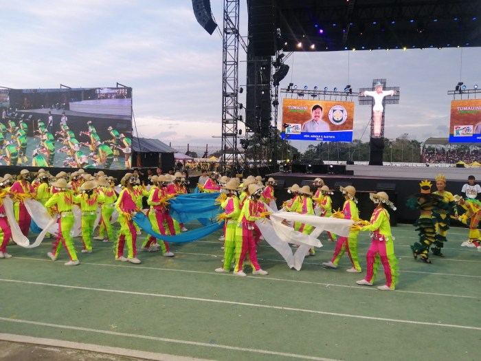 Bambanti Festival Contingents
