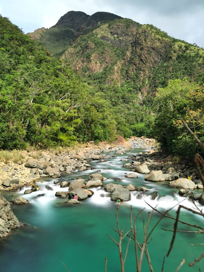 Cantingas River in Sibuyan Romblon