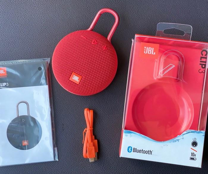 JBL Clip3 Speaker Review