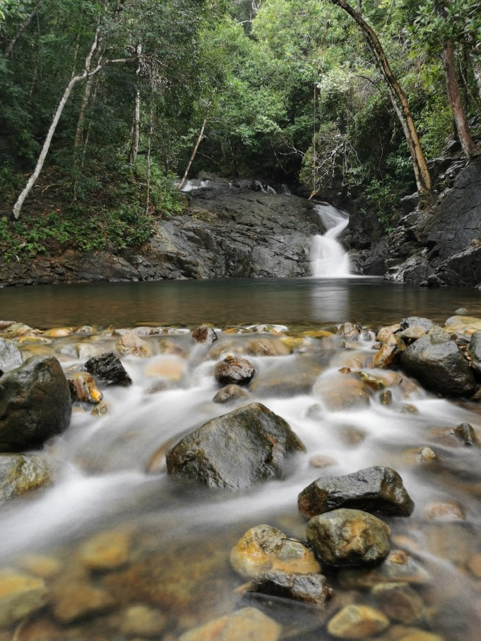 Lambingan Falls in Magdiwang Romblon