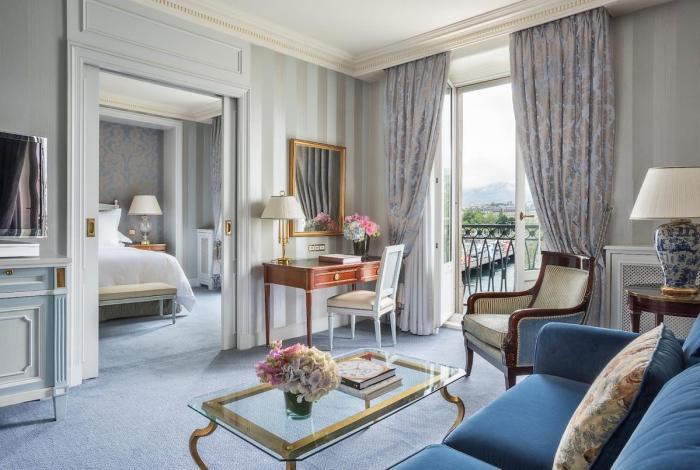 Luxury Rooms at Four Seasons Hotel des Bergues Geneva