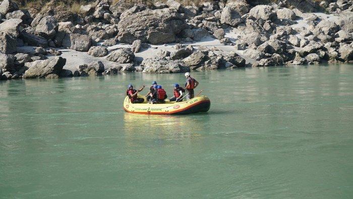 Rishikesh Whitewater Rafting